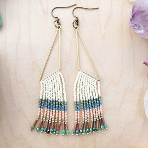 Fringe Seed Earrings